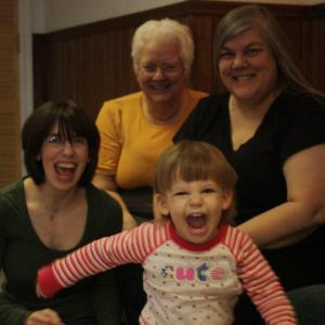 Four generations of phase-eeze girls :)